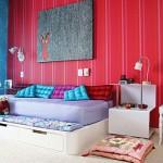 O quarto da menina precisa ser confortável e cheio de personalidade. (Foto:Divulgação)
