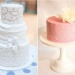 O bolo rendado combina com ocasiões sofisticadas. (Foto:Divulgação)