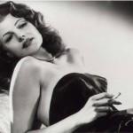 Rita Hayworth também sofreu Alzheimer (Foto: divulgação).