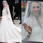 As famosas também são adeptas aos vestidos de noiva com transparências (Foto: divulgação).