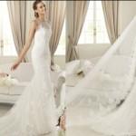 Os vestidos de noiva com transparência podem ser encontrados em vários modelos (Foto: divulgação).