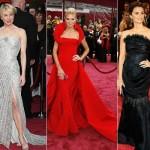 As famosas são adeptas dos vestidos sereia (Foto: divulgação).