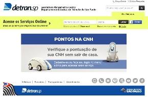 Detran serviços online SP