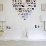 Faça um painel de fotos na parede do quarto (Foto: Divulgação)
