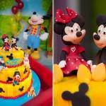 Festa de um ano decorada com o tema Disney. (Foto:Divulgação)