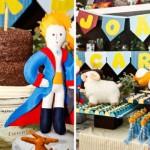 Festa de um ano decorada com o tema Pequeno Príncipe. (Foto:Divulgação)