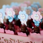 Docinhos decorados com delicadeza para a festa. (Foto:Divulgação)