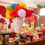 Festa de um ano decorada com o tema Circo. (Foto:Divulgação)