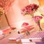 O rosa é uma cor clássica na decoração de festa de 15 anos. (Foto:Divulgação)