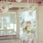 Gaiolas deixam a decoração mais delicada. (Foto:Divulgação)