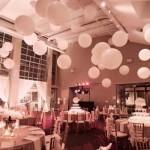 Balões dinamizam a decoração da festa. (Foto:Divulgação)