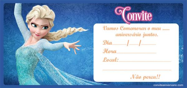 Convites de festa de aniversário infantil para imprimir (Foto: Divulgação)