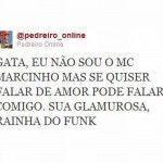 Cantada funkeira (Foto: Divulgação)