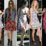 Os vestidinhos estampados combinam com o verão.  (Foto:Divulgação)