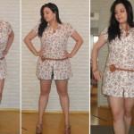 Mulheres acima do peso devem escolher estampas menores.  (Foto:Divulgação)