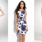 O vestido com estampa floral deixa a mulher mais feminina. (Foto:Divulgação)