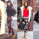 A calça com estampa floral é uma nova tendência. (Foto:Divulgação)