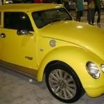 Versão baseada no New Beetle (Foto: Divulgação)