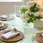 O centro de mesa deve ser romântico e delicado. (Foto:Divulgação)