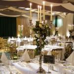 Clima aconchegante e romântico para a festa de casamento. (Foto:Divulgação)