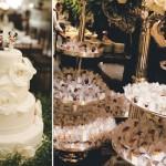 Bolo e docinhos enfeitam a mesa de casamento. (Foto:Divulgação)