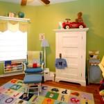 Ambiente lúdico e colorido para a criança. (Foto:Divulgação)