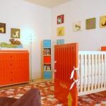 Quarto infantil decorado com cores vibrantes. (Foto:Divulgação)