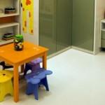 Móveis com design lúdico divertem as crianças. (Foto:Divulgação)