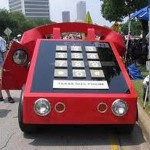 Carro telefone (Foto: Divulgação)