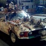 """Carro """"enfeitado"""" (Foto: Divulgação)"""