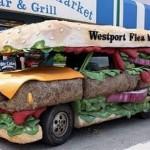 Carro sanduíche (Foto: Divulgação)