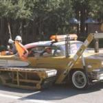Carro escavadeira (Foto: Divulgação)