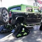 """Novos """"pneus"""" para andar em qualquer terreno (Foto: Divulgação)"""