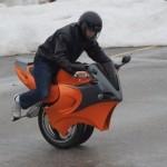 Moto de uma roda (Foto: Divulgação)