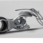 Outra moto futurista (Foto: Divulgação)