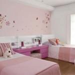 O quarto das meninas é mais delicado (Foto: Divulgação)