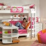O quarto com espaço para brincar pode acompanhar a criança até sua adolescência (Foto: Divulgação)