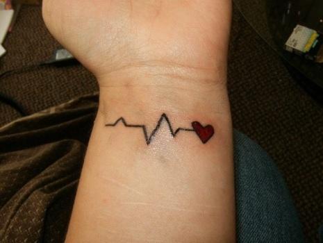 Tatuagem criativa para o pulso. (Foto:Divulgação)