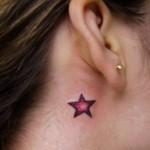 Uma delicada estrela no pescoço. (Foto:Divulgação)