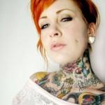 Opção de tatuagem para as mulheres alternativas. (Foto:Divulgação)