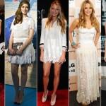 O ideal é usar vestidos leves e sem tanto brilho. (Foto: Divulgação)