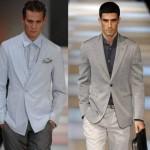 Os trajes esporte fino masculinos podem ser usados em várias cores e tons (Foto: divulgação).