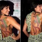 Tatuagem da Jaque Khury (Foto: Divulgação)