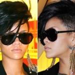 Moicano de Rihanna.  (Foto:Divulgação)