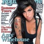 Amy Winehouse na capa da Rolling Stone. (Foto:Divulgação)