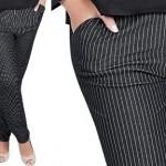 Aposte no uso de calças risca de giz (Foto: divulgação).