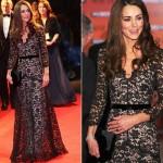Kate Middleton adora montar um look com rendas. (Foto:Divulgação)