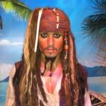 Johnny Depp em Piratas do Caribe (Foto: Divulgação)