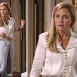 As roupas brancas são muito usadas pela personagem (Foto: divulgação).