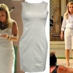 Os vestidos e camisetes de cores claras compõe o visual Carminha (Foto: divulgação).